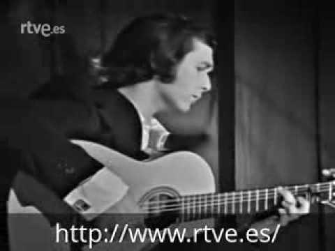 Paco de Lucía en la Casa de Almería de Barcelona (1974)