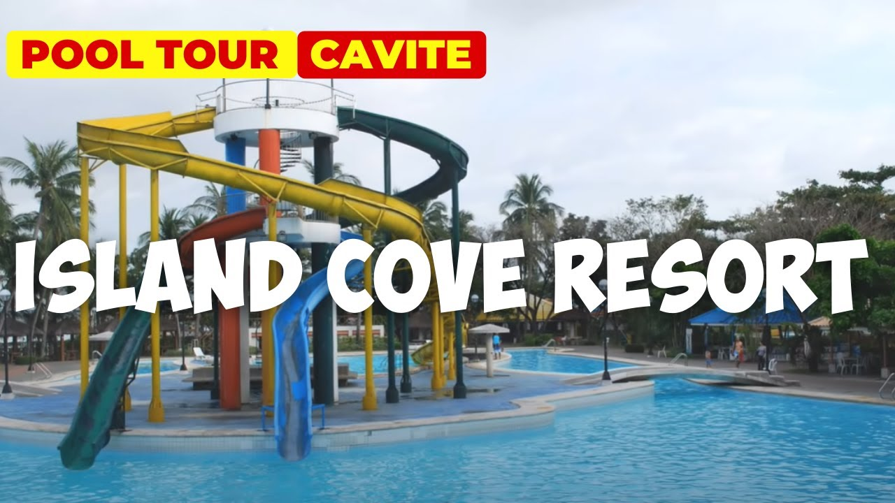 Recreational Swimming Pools At Island Cove Resort Bacoor Cavite Youtube