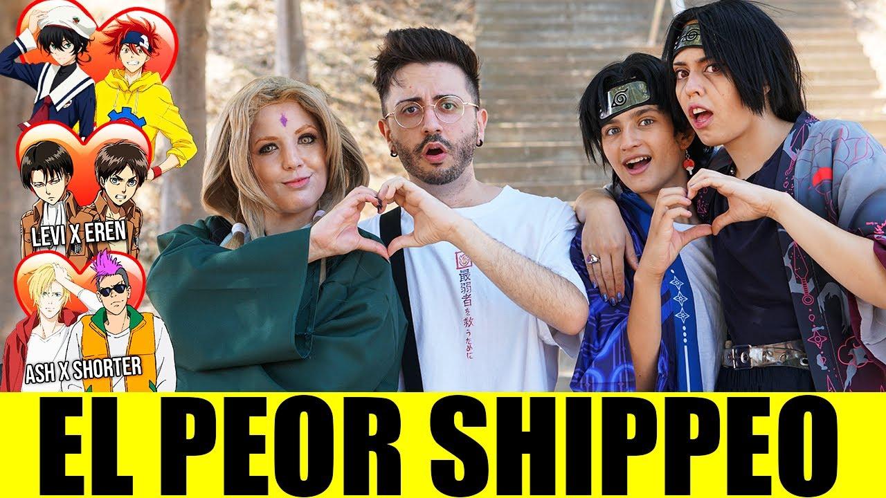 ¿Cuál es el PEOR SHIPPEO del ANIME para los OTAKUS? | PEORES SHIPS de NARUTO SK8 SHINGEKI NO KYOJIN