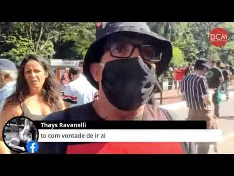 """""""Me Senti Na Obrigação De Lutar Contra Esse Movimento Fascista"""", Diz Manifestante Na Paulista"""