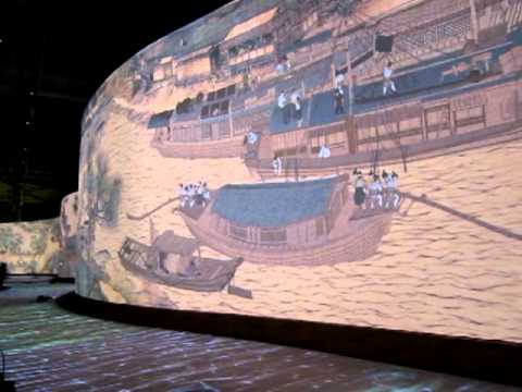A Moving Masterpiece - Qing Ming Shang He Tu (清明上河圖) Boats Singapore Exhibition