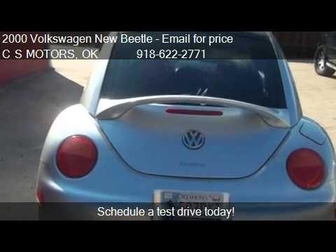 2000 Volkswagen New Beetle GLX TURBO MANUA - for sale in TUL