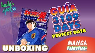 3109 Days Perfect Data Captain Tsubasa UNBOXING - Manga Anime