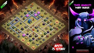 TH12 War Base 2018 Anti 3 Star Layout - Weekly War Bases
