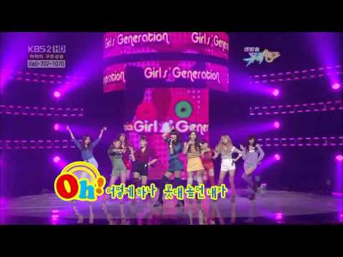 100205 SNSD - Oh! @ KBS2 Music Bank