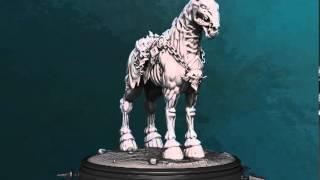 Despair, Horse of Death (Darksiders 2) 3D Turntable