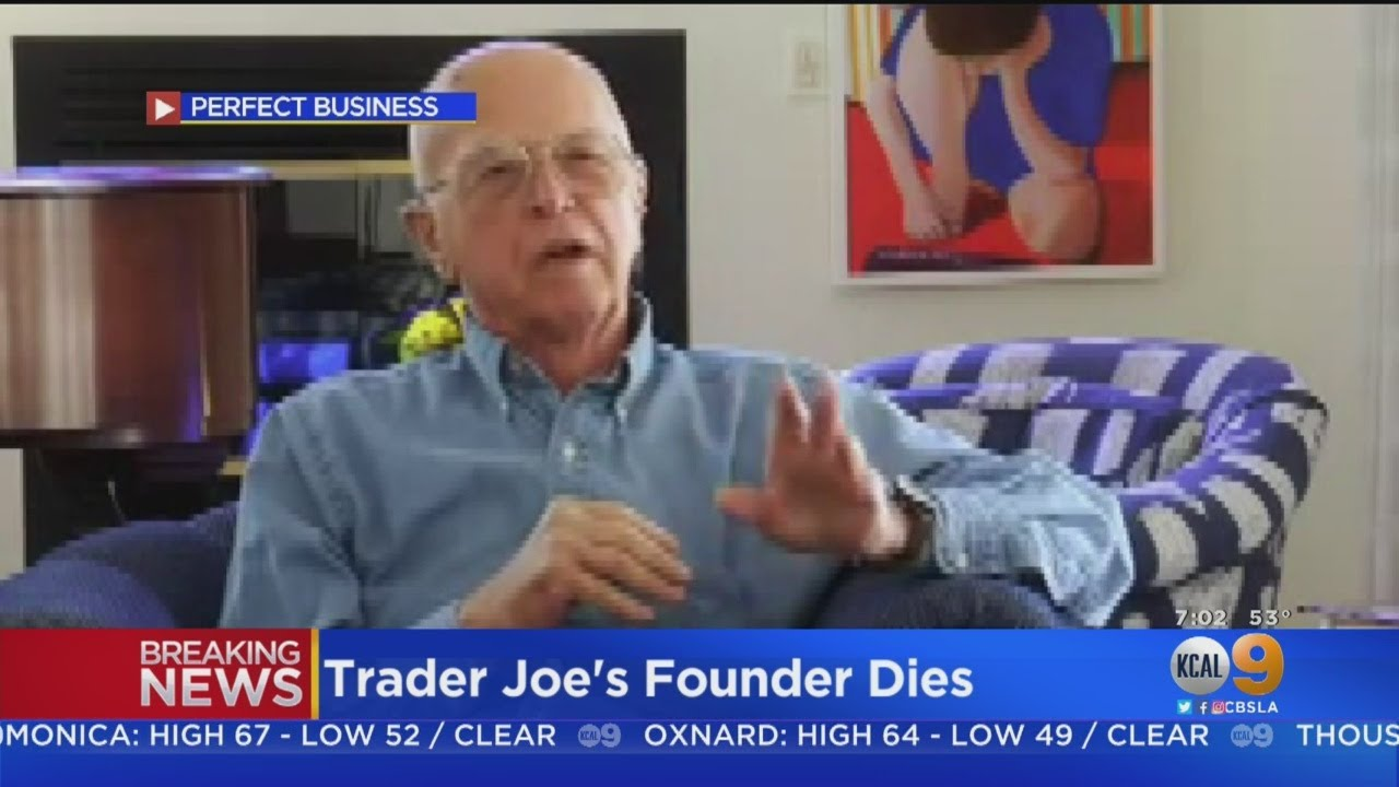 Obituary: Trader Joe's Founder Joe Coulombe Dies At 89