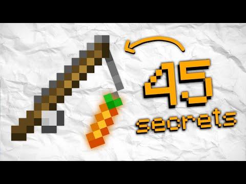 45 Choses que vous ne savez PAS sur Minecraft !