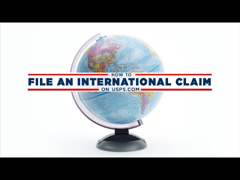 How To File An International Claim On USPS.com