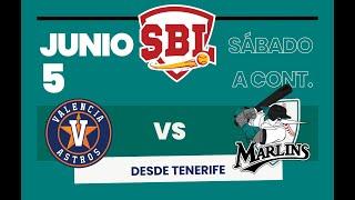 Astros de Valencia - Marlins Puerto Cruz