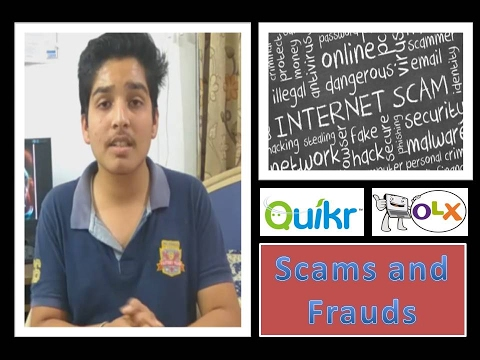 Tech Talk #2  OLX and QUICKER fraud and scams,  fake buyers and sellers {be aware}