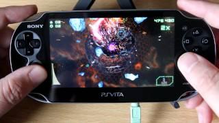 PS Vita Gameplay: Super Stardust Delta
