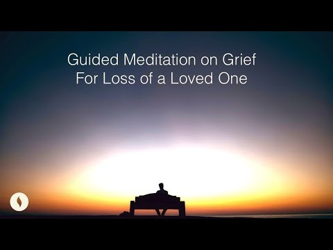 Guided Meditation on Grief for Loss of a Loved One Mp3
