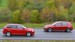 Skoda Rapid Spaceback vs. VW Golf VII