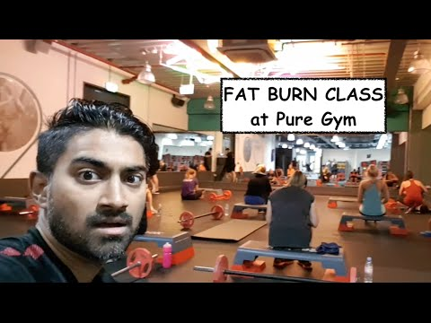 FAT BURN CLASS at Pure Gym Manchester - JayManTrain