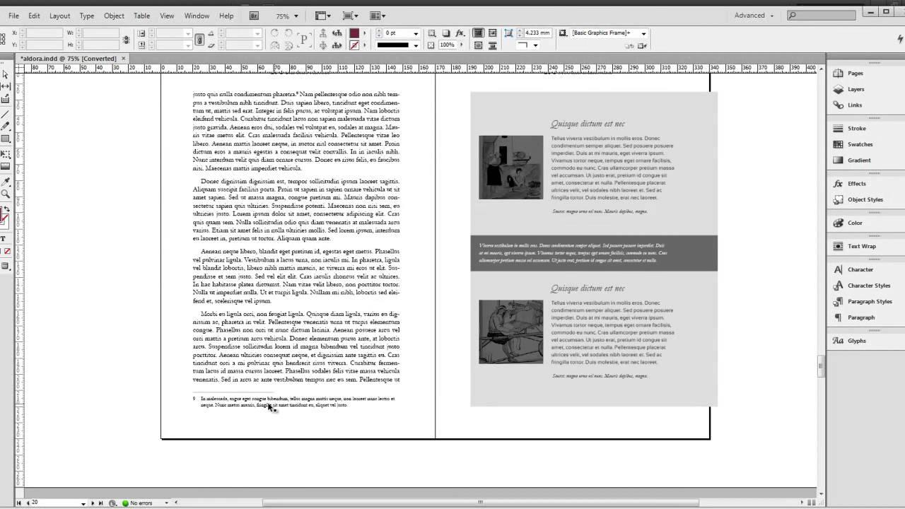 Indesign Book Templates. free indesign book template 1 novel free ...