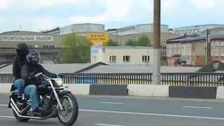 Открытие Байк сезона 2015 Иваново колонна