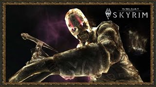 TES 5: Skyrim #Dawnguard - Бой с Жнецом