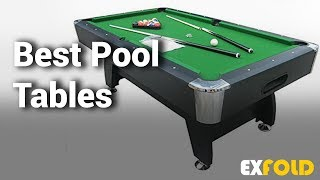8 Best Pool Tables with Review & Details - Which is the Best Pool Table?- 2019