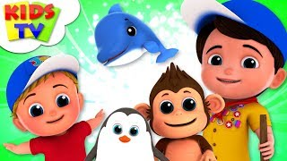 Animal Habitat | Junior Squad Cartoons | Kindergarten Nursery Rhymes & Songs For Babies - Kids TV