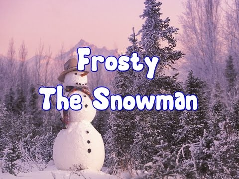 ⛄Who is Frosty the Snowman?⛄