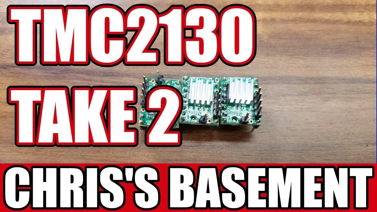 TMC 2130 Stepper Drivers - w/LCD - Chris's Basment