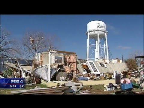 FEMA evalautes tornado damage