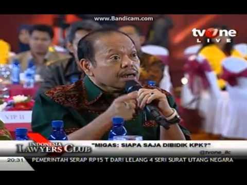 Indonesia Lawyers Club-Migas: Siapa Saja Dibidik KPK-21 Januari 2014