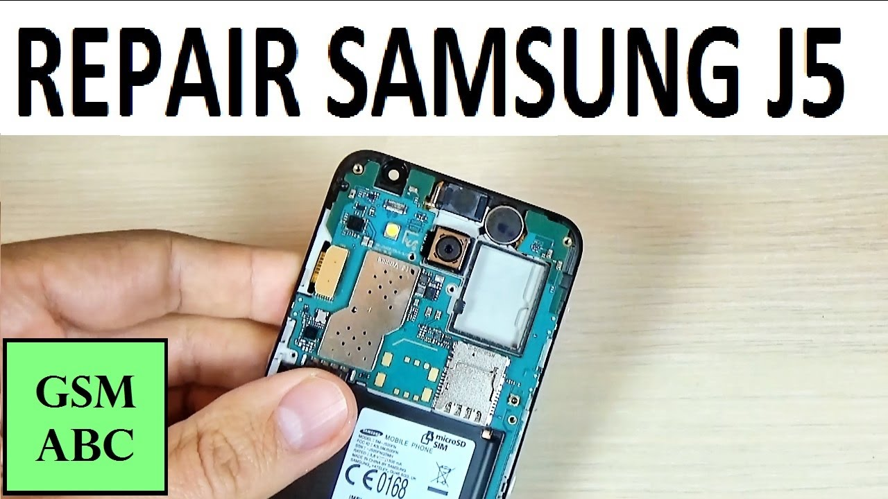 How to FIX Samsung Galaxy J5 | Hardware Repair | Disassembling | Change LCD