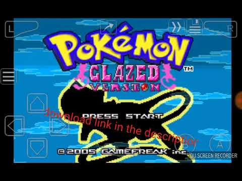 pokemon glazed gba zip free download