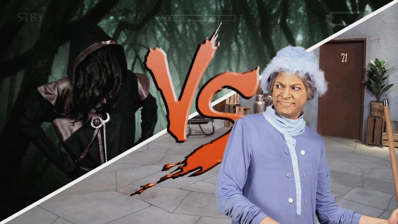 BRUXA DE BLAIR vs. BRUXA DO 71 - YouTube