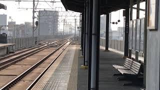 撮影日:2018年2月24日 撮影地:今治駅.