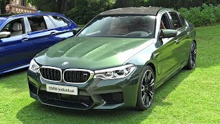 2018 BMW M5 F90 Individual Exhaust Sound - Cold Start Up & Revs Valves Open/Closed