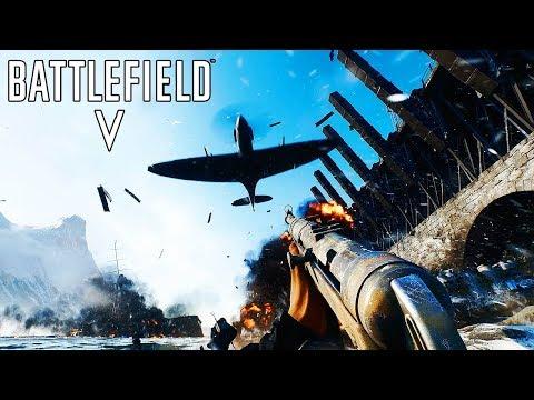 [4K] BATTLEFIELD 5 - Multiplayer Reveal Trailer @ 2160p UHD ✔