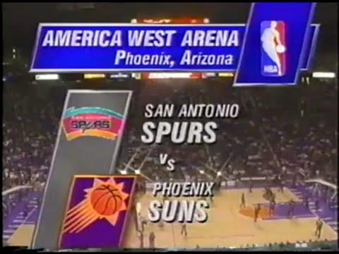 San Antonio Spurs @ Phoenix Suns - November 26, 1994
