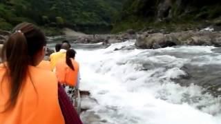 日本-和歌山縣北山村觀光筏下り(激流木筏)