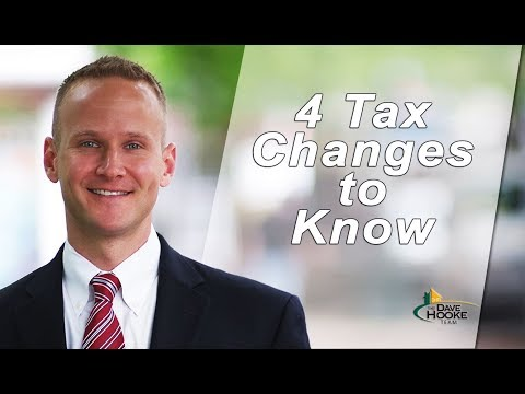 Central PA Real Estate Agent: 4 Tax Changes for Homeowners to Know