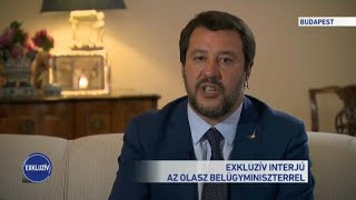 'Europe will become an Islamic caliphate if we don't take back control,' Salvini tells Hun