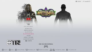 WWE 2K19 Character Select Screen Including All DLC Packs Roster