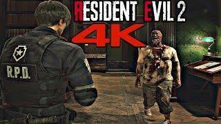 Resident Evil 2 Remake - PC Gameplay Ultra Realistic Graphics 4K 60FPS