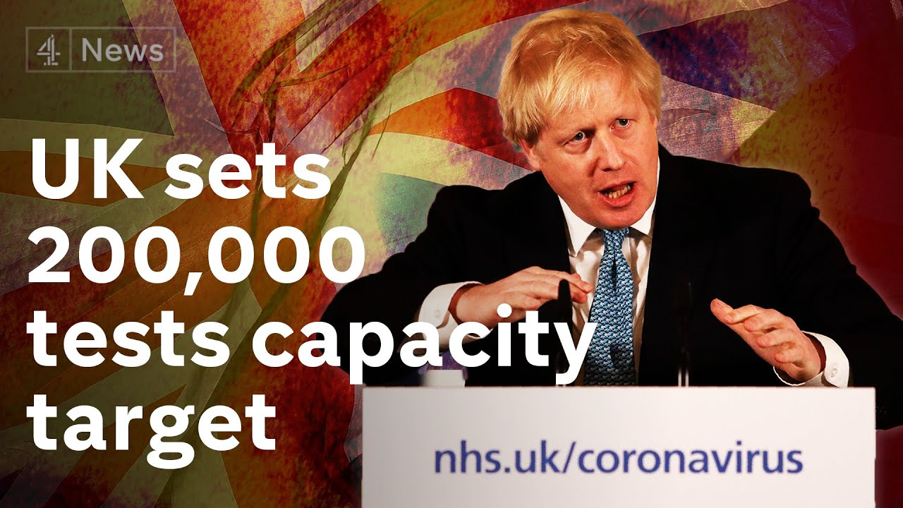 UK government update: 30,000 virus deaths record as 'restart' plan prepared