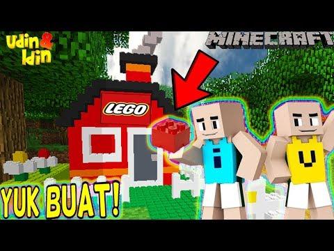 upin-ipin-buat-rumah-dari-lego!!---minecraft-lucu
