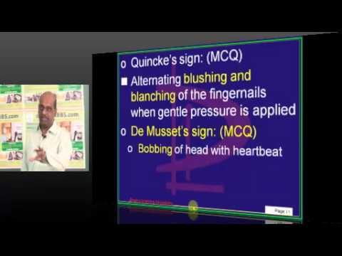 Medicine Cardiology Topic 09 AORTIC REGURGITATION