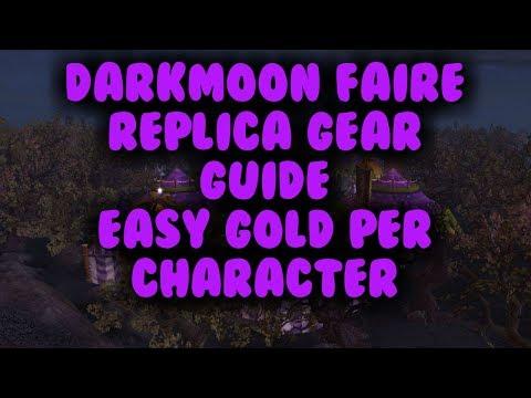 Darkmoon Faire Replica Gear Guide Easy 30k+ Per Character.