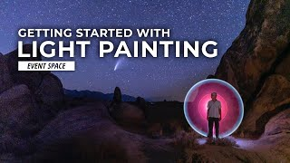 Creative Portraits with Light Painting! How to Get Started | B&H Event Space