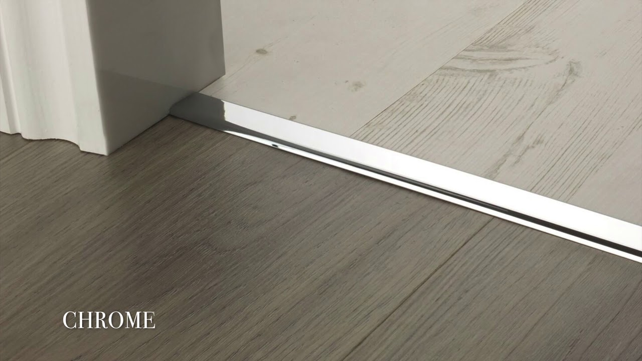 Premier Trims Vinyl Edge Door Threshold & Premier Trims Vinyl Edge Door Threshold - YouTube