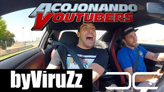 ACOJONANDO a ByVIRUZZ (SE ASUSTA DE VERDAD!!) | Dani Clos