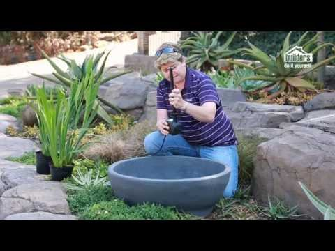 Builders DIY: Episode 5 - Simple Water Feature