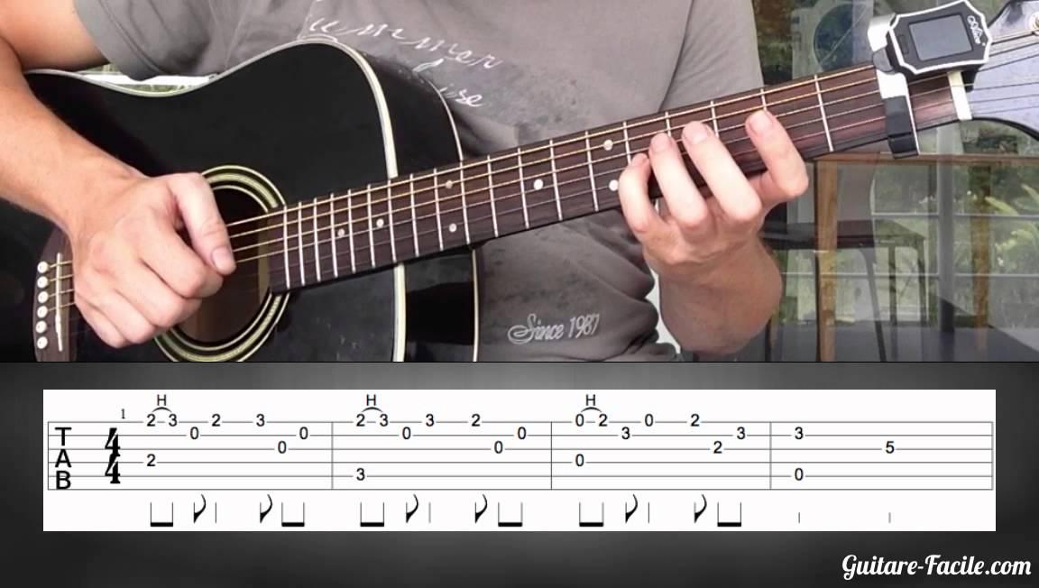 jouer lib r e d livr e la guitare l 39 intro partie 2. Black Bedroom Furniture Sets. Home Design Ideas