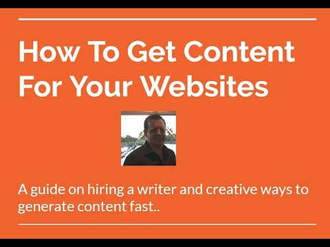 How To Hire A Writer For Your Affiliate Site  Youtube How To Hire A Writer For Your Affiliate Site